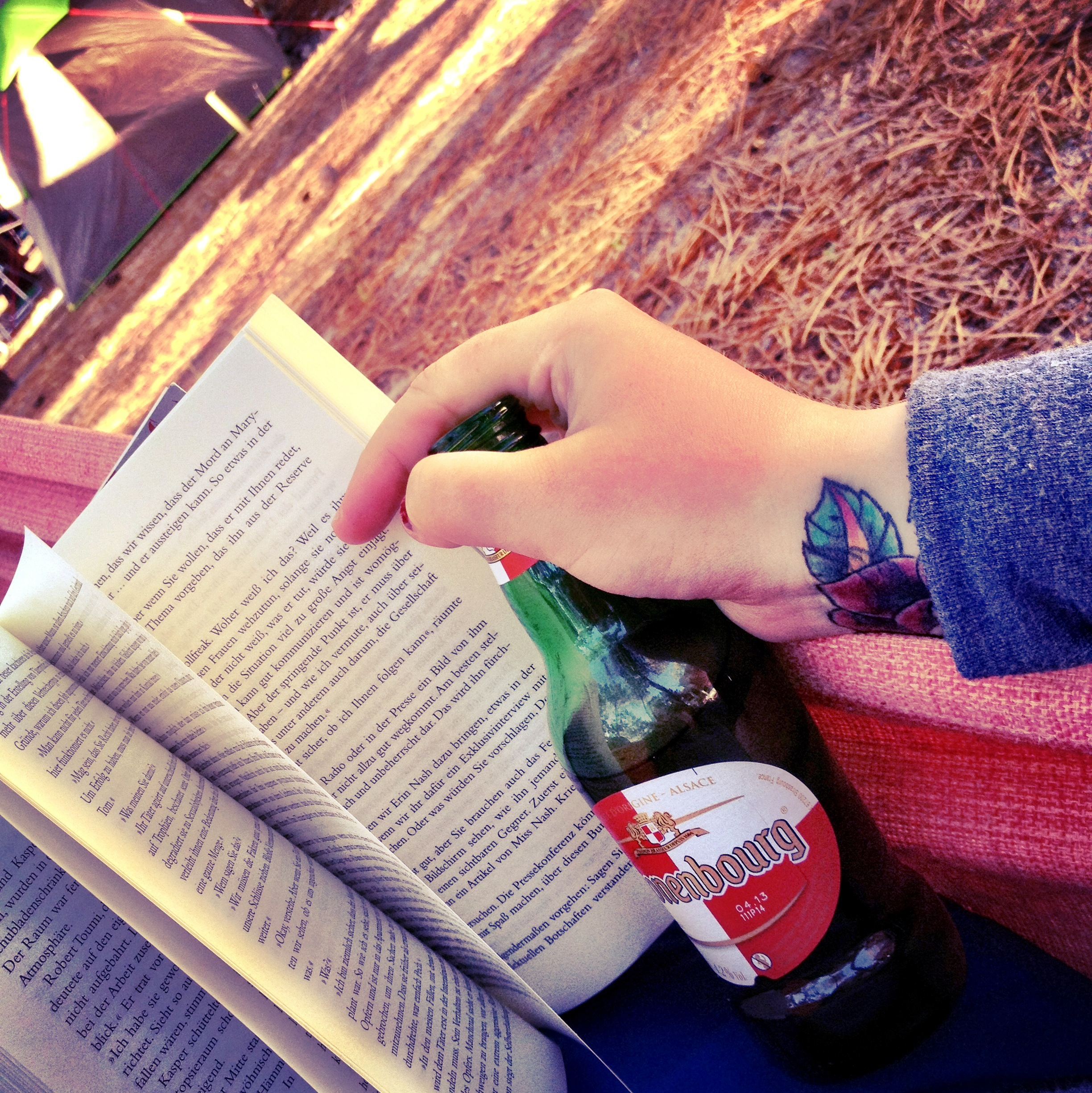 Izzi Reckless Book and Beer