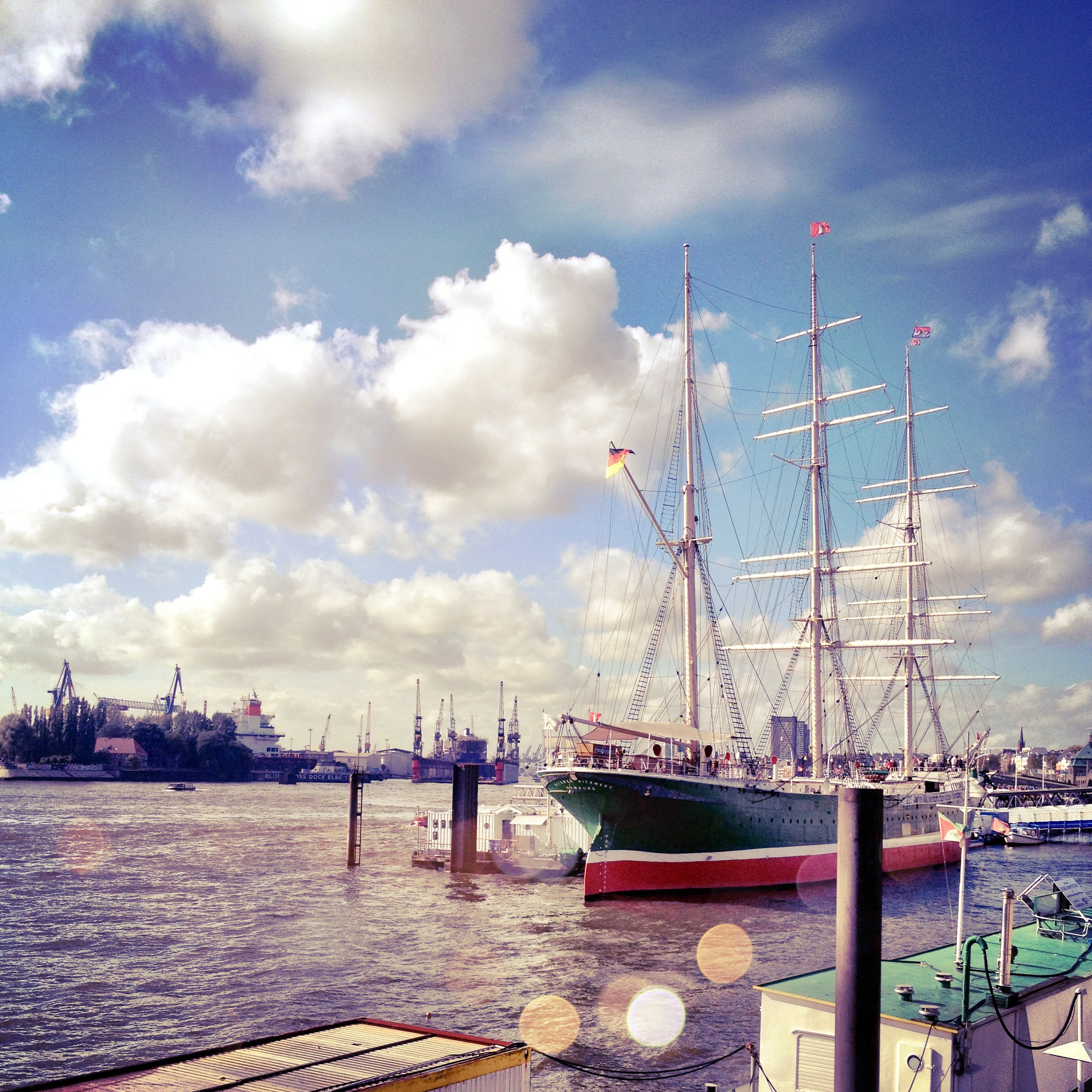 Hamburg Hafen - we are reckless by isabell klatt