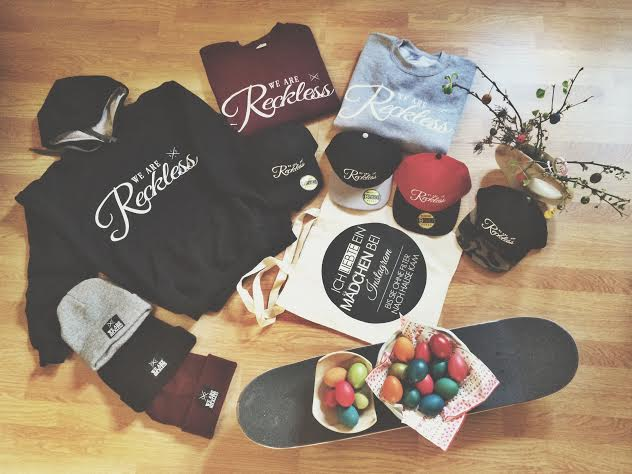 WE ARE RECKLESS CLOTHING
