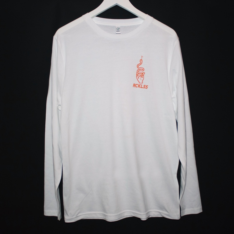 LONGSLEEVE  HANDSNAKE // ORANGE